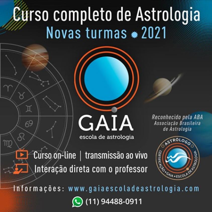 Curso Completo de Astrologia  - Curso Online