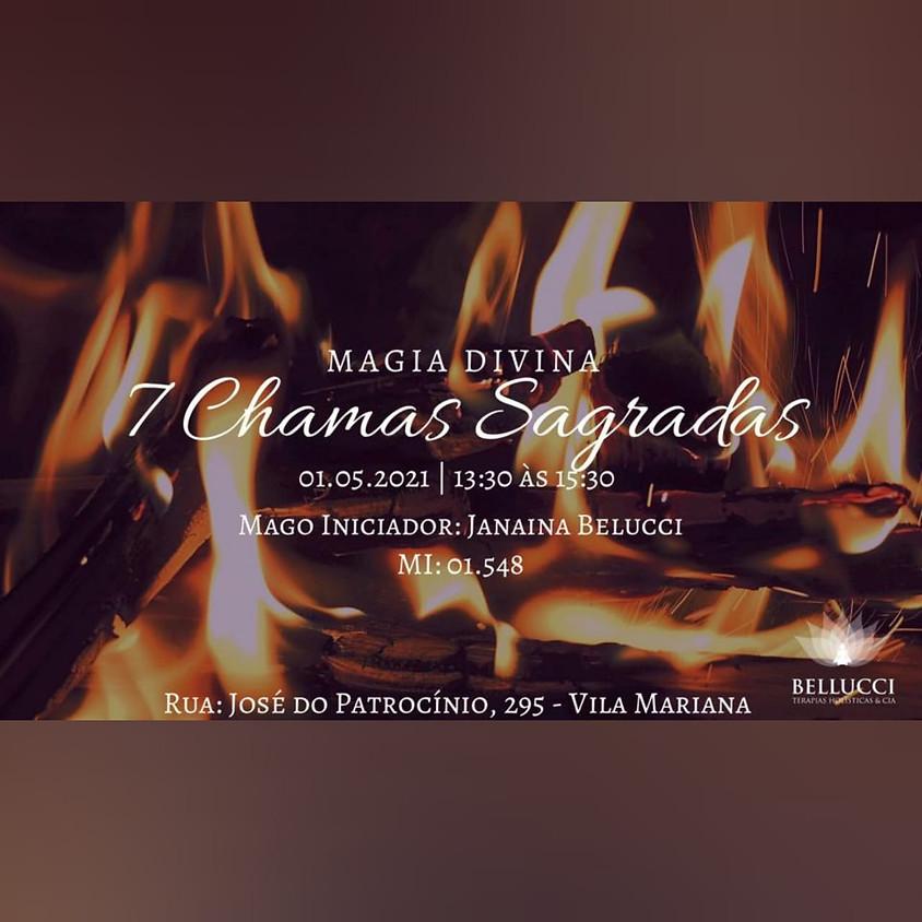 Curso: Magia Divina  - 7 chamas Sagradas