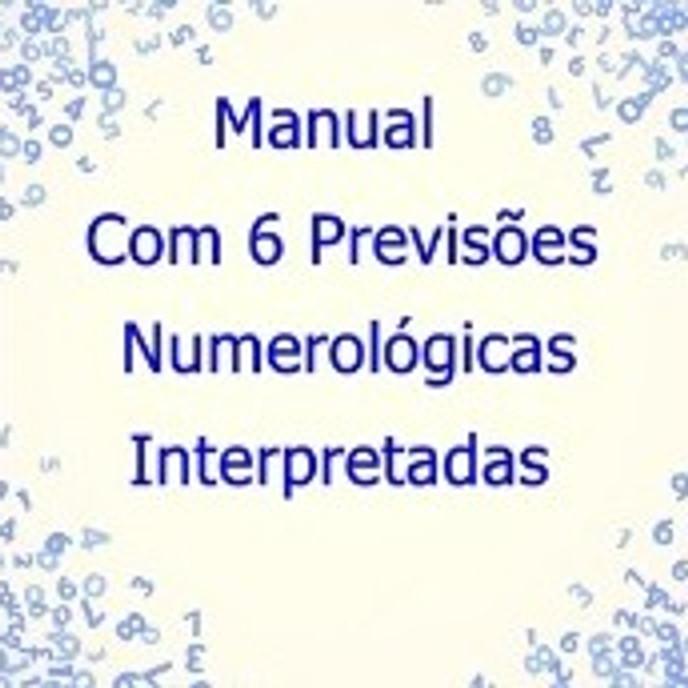 Curso Online: Manual Digital com 6 Previsões Numerológicas Interpretadas