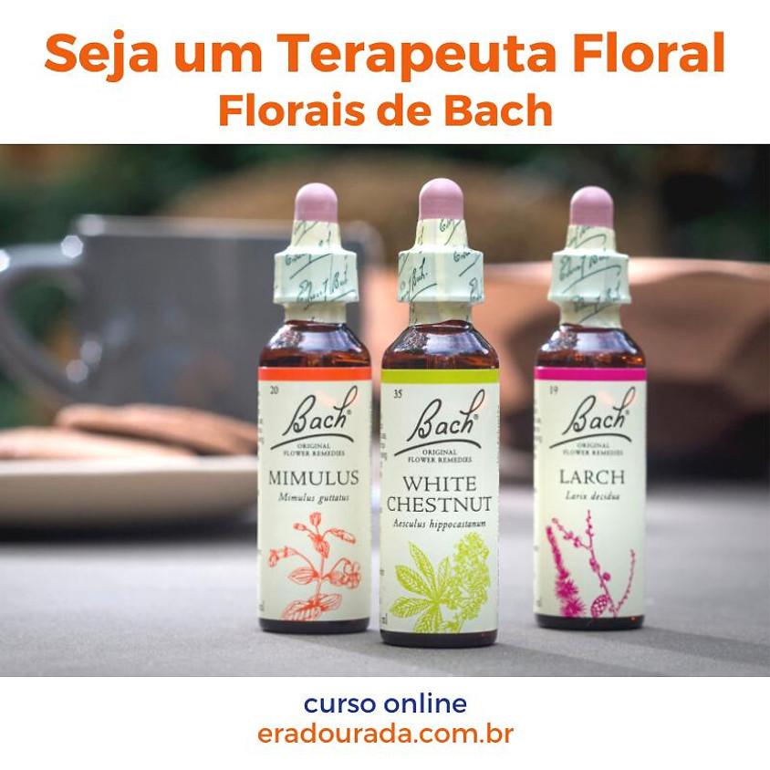 Curso Online:  Seja um Terapeuta Floral - Florais de Bach