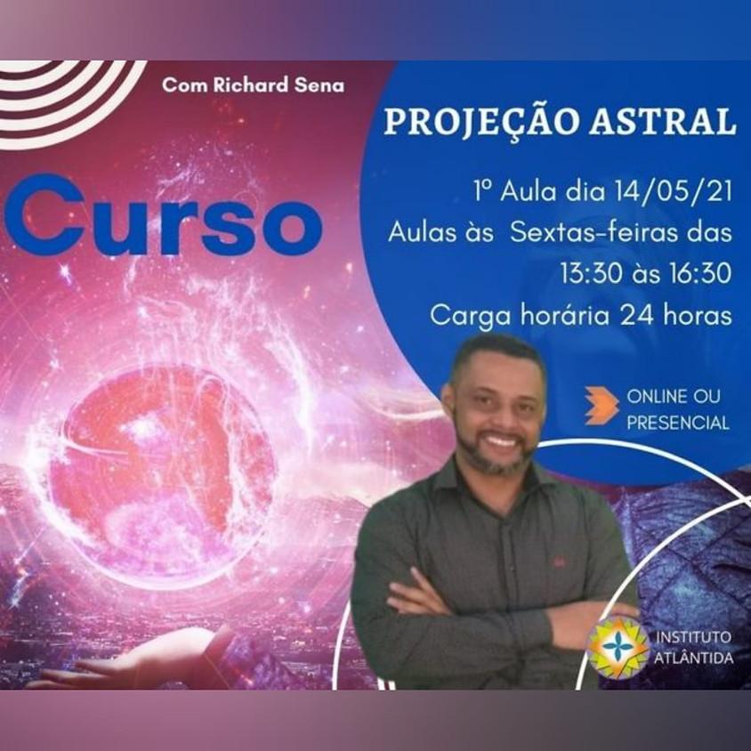 Curso Presencial ou online: Projeção Astral