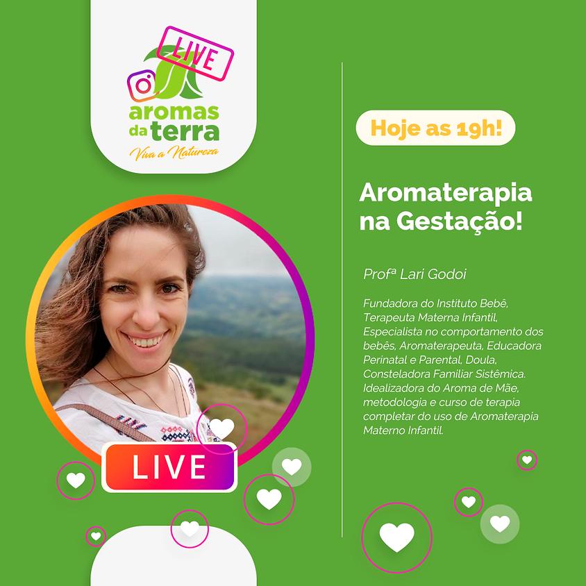 Live: Aromaterapia na Gestação