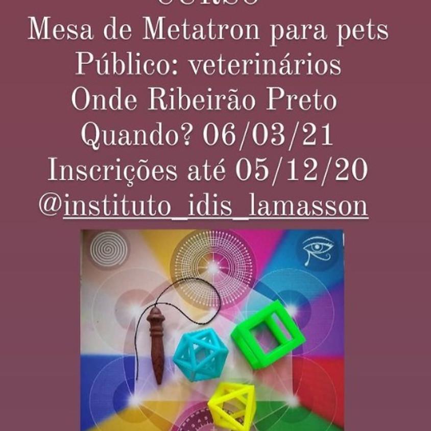 Curso: Mesa de Metatron para Pets