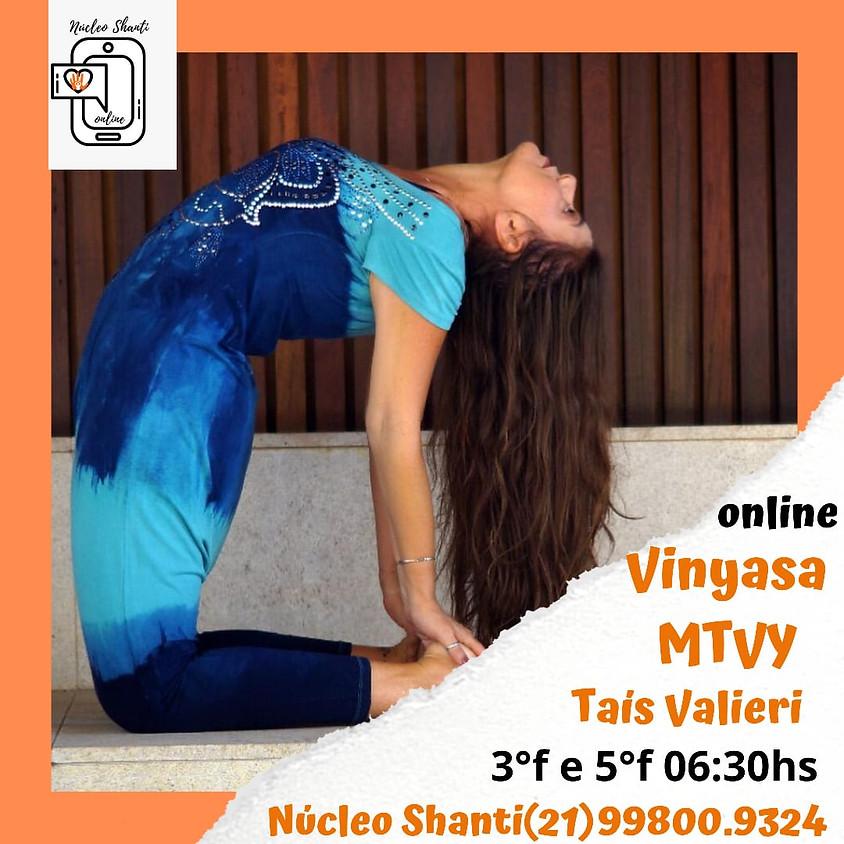 Aula Online: Vinyasa MTY - Terças