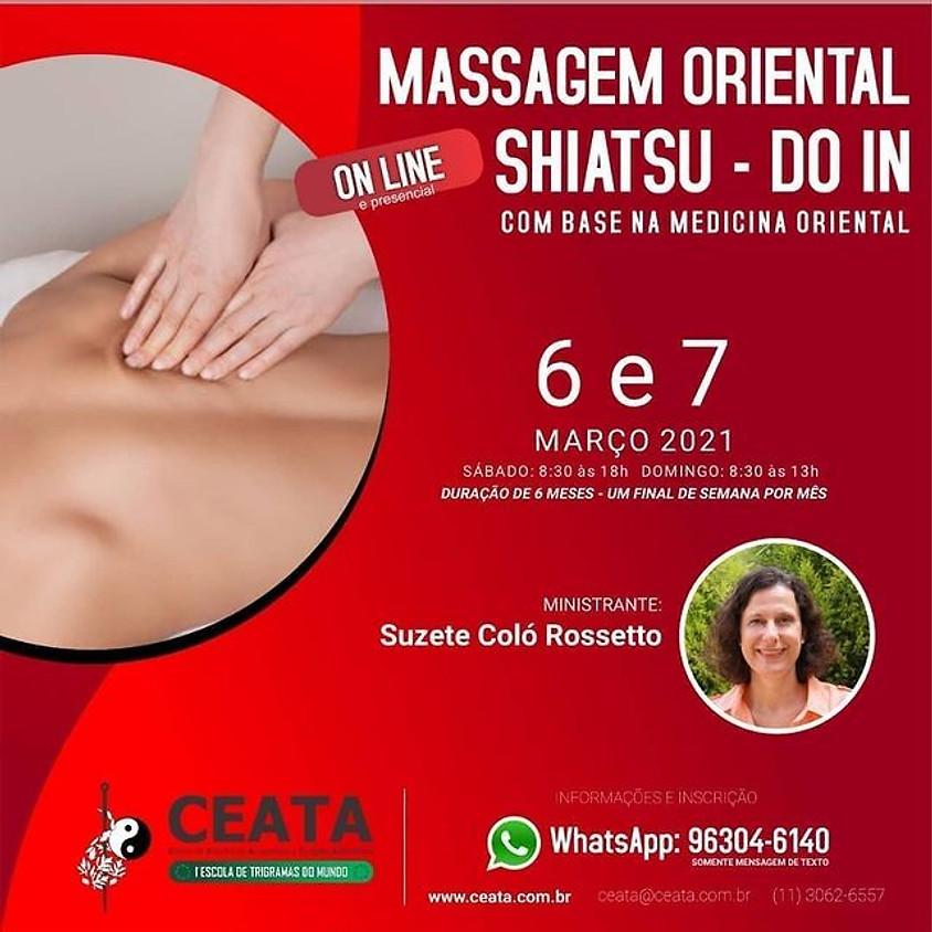 Curso Online e Presencial: Massagem Oriental Shiatsu - Don In  -  Com Base na Medicina Oriental