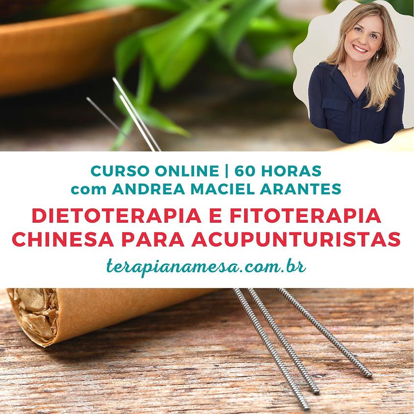 Curso Online de Dietoterapia e Fitoterapia Chinesa para Acupunturistas