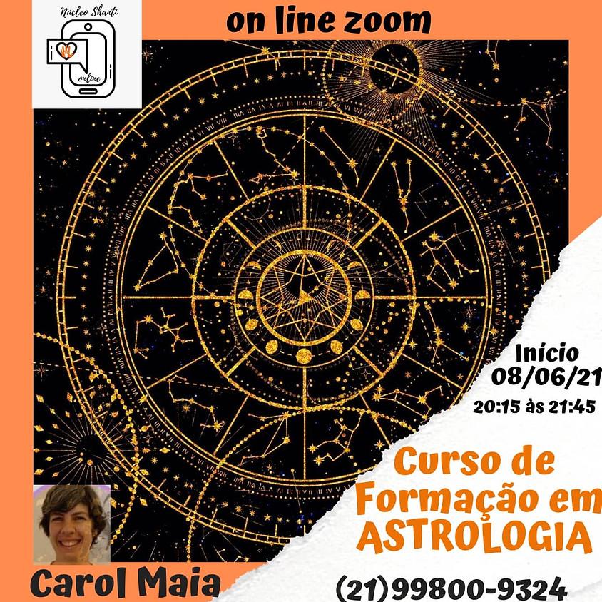 Curso Online: Formação Básica em  Astrologia
