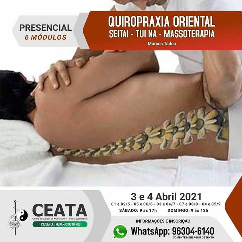 Curso Quiropraxia Oriental  -  Seitai  -  Tui  Na - Massoterapia