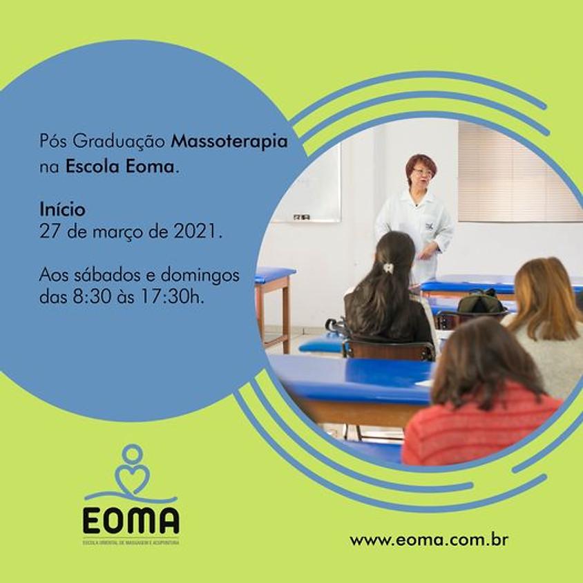Pós Graduação Massoterapia na Escola Eoma