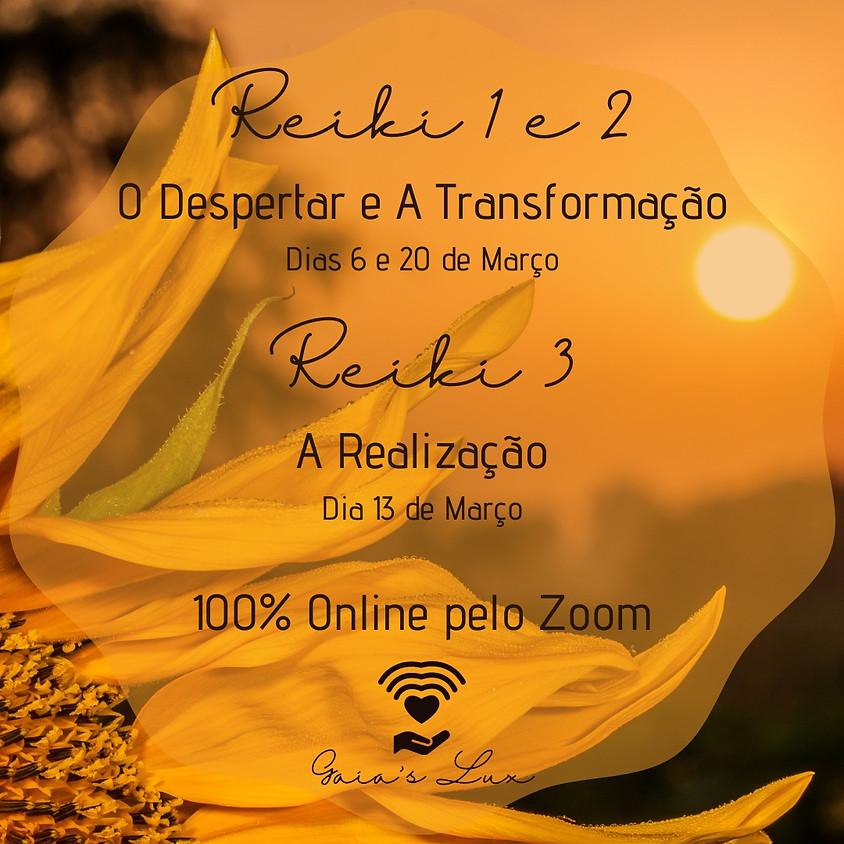 Curso Online:   Reiki  1 E 2  -  O Despertar e A Transformação