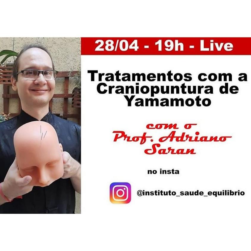Live: Tratamento com a Craniopuntura de Yamamoto
