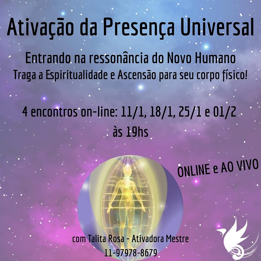 Ativação da Presença Universal