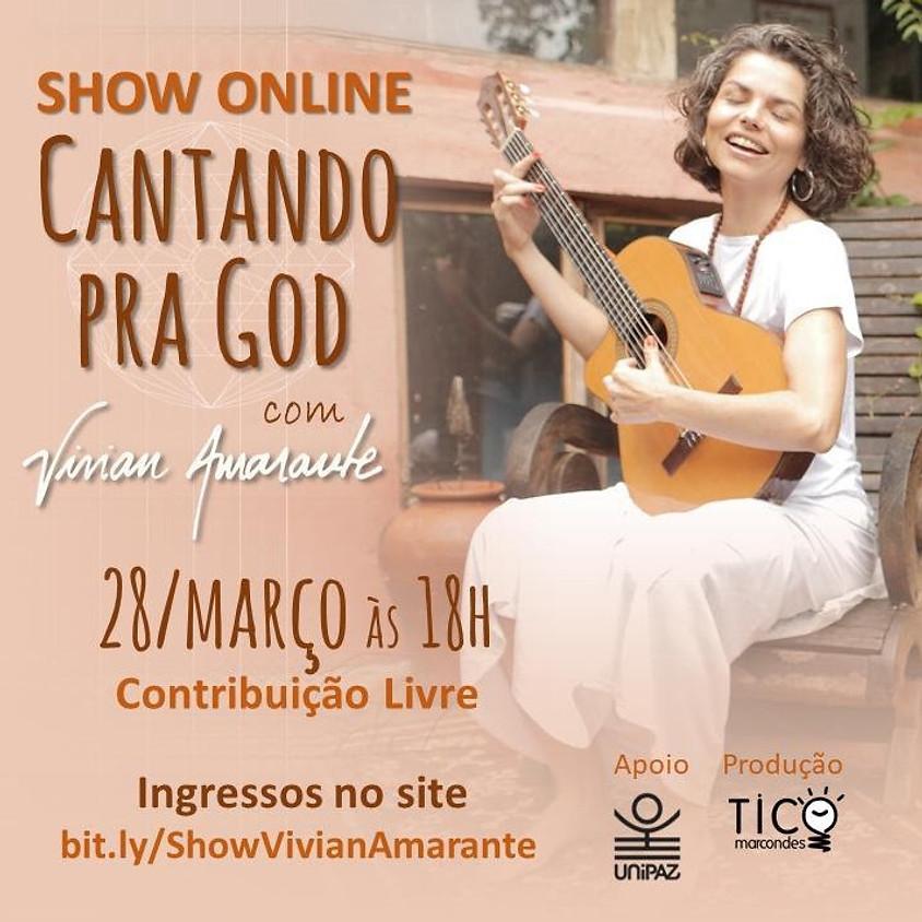 Show Online Cantando pra God