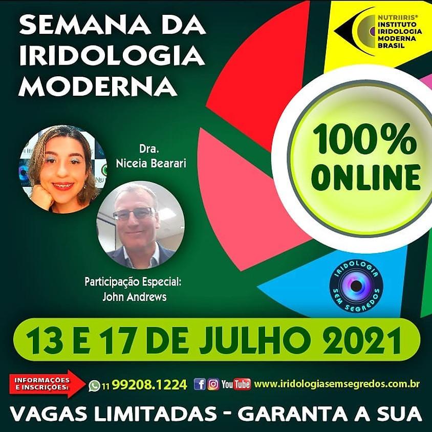 Semana da Iridologia Moderna - 100% Online