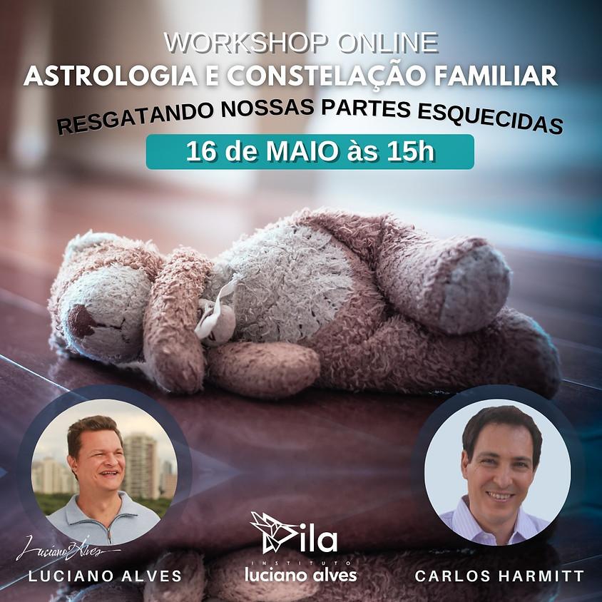 Worshop Online:  Astrologia e Constelação Familiar Resgatando Nossas Partes Esquecidas
