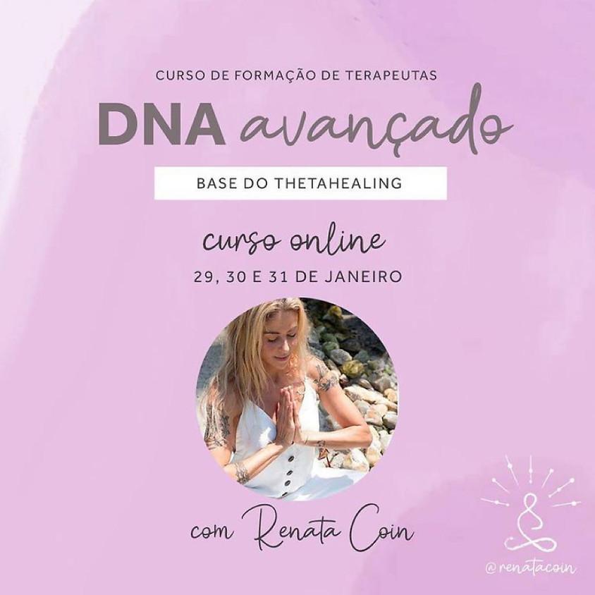 Curso Online:  DNA Avançado - Base  do Thetahealing