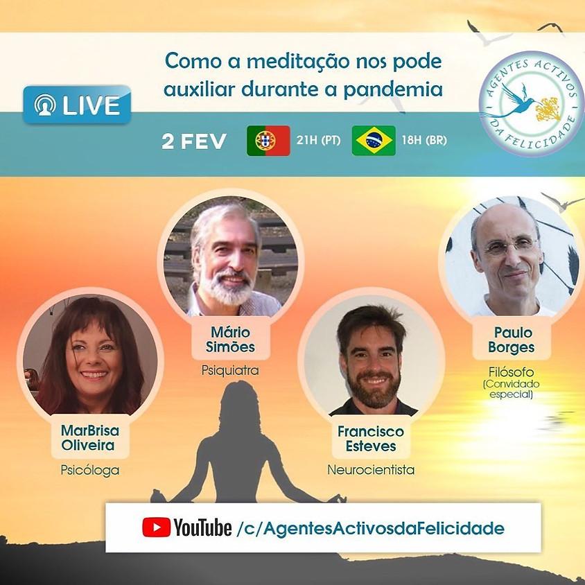 Live: Como a meditação nos pode auxiliar durante a pandemia