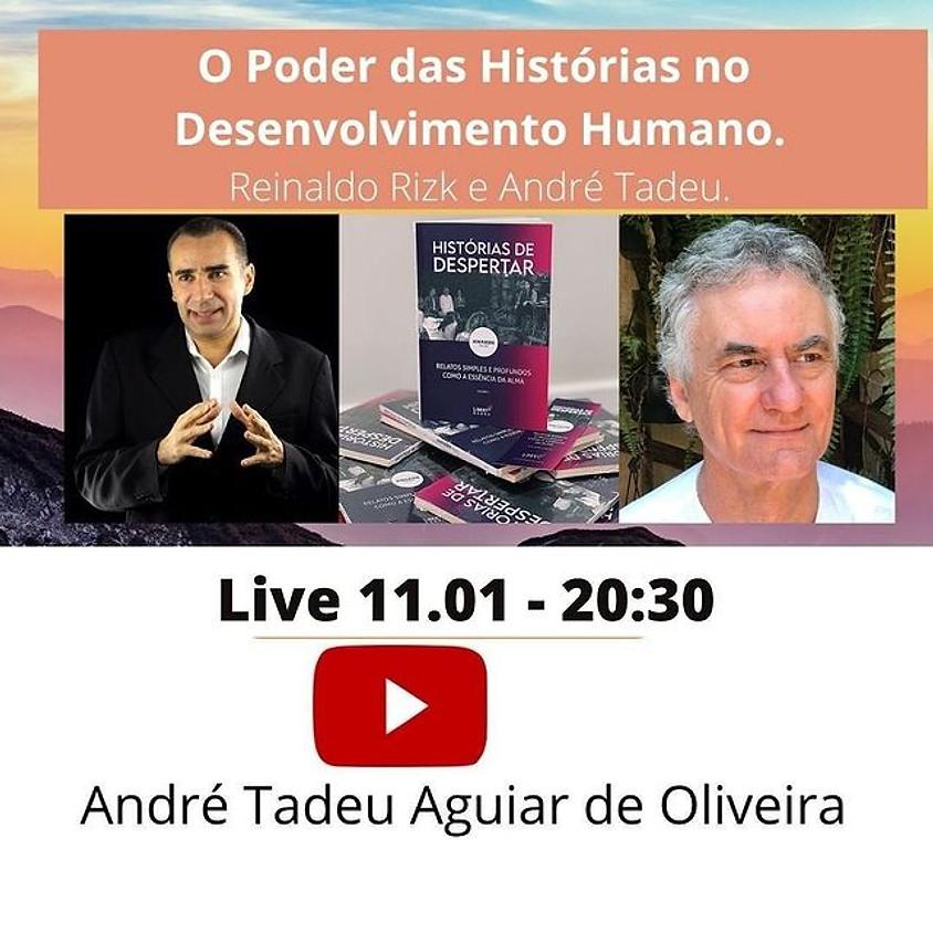 Live: O poder das Historias no Desenvolvimento Humano