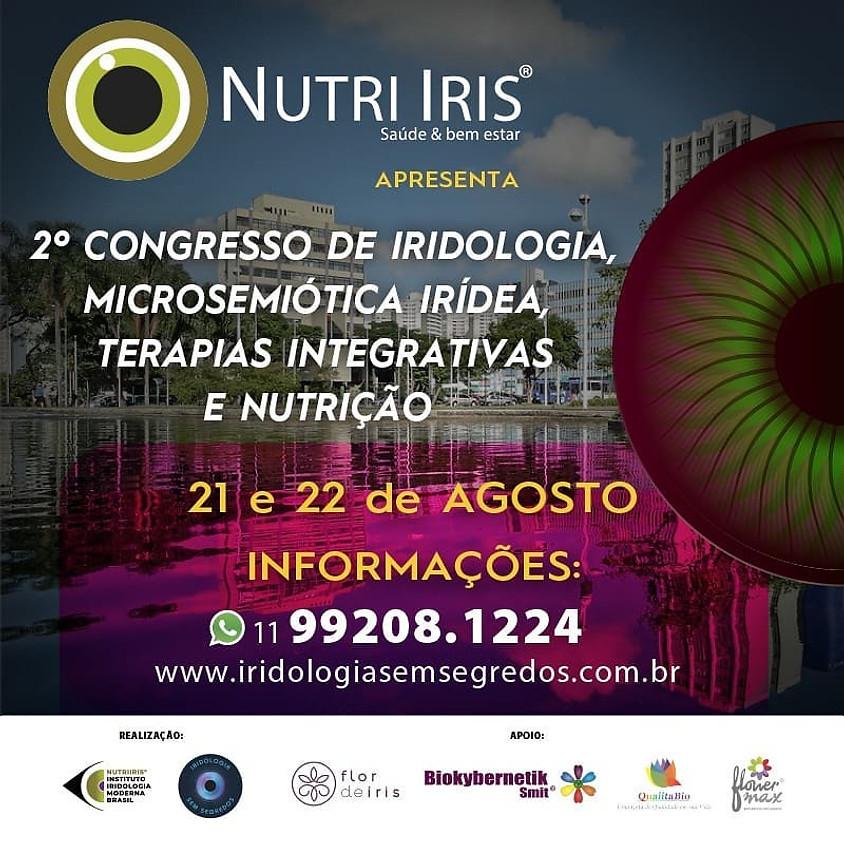 2º Congresso de Iridologia, Microsemiótica Irídea, Terapias Integrativas e Nutrição