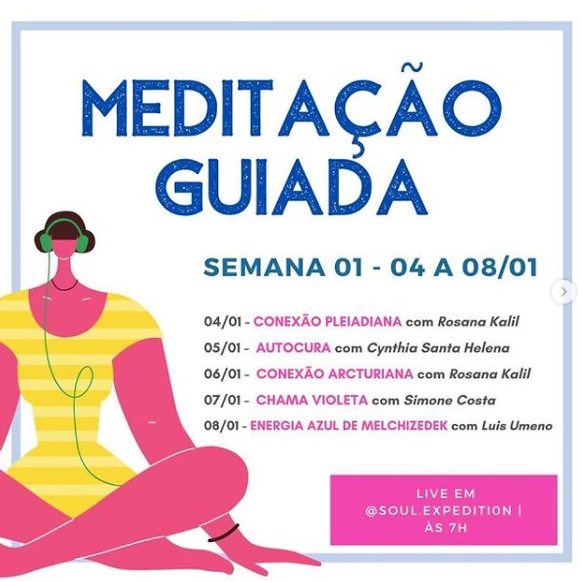 Live:  Meditação Guiada  - 06/01 - Conexão Arcturiana c/ Rosana Kalil