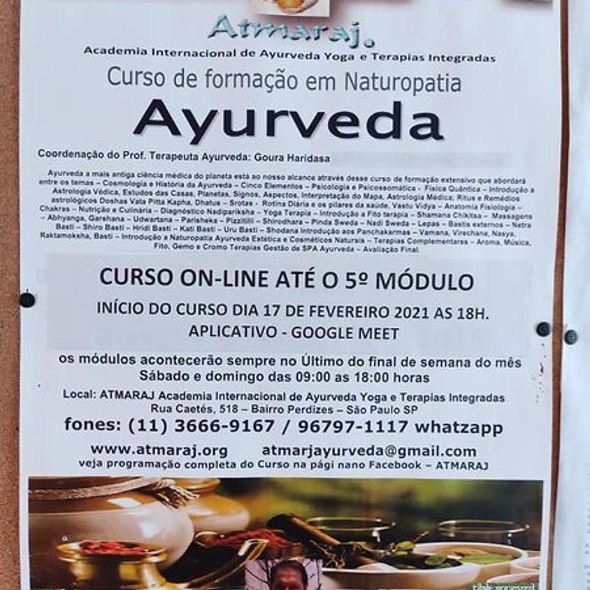 Curso: Online Formação em Naturopatia Ayurveda