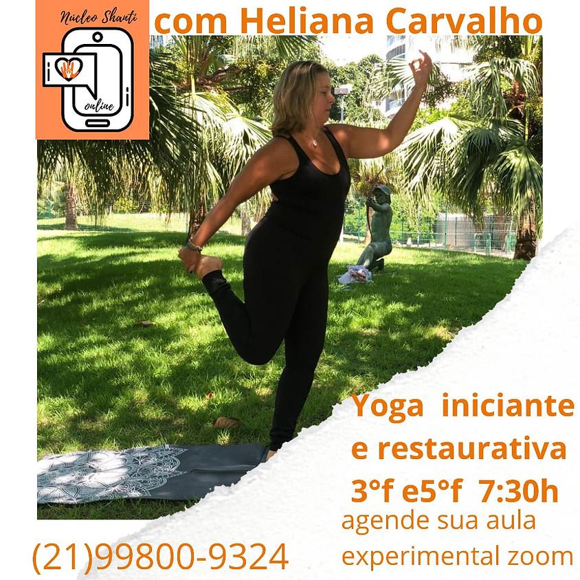Aula Online: Yoga e Restaurativa - Terças