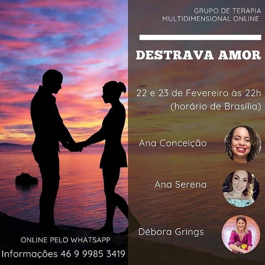 Grupo de Terapia Multidimensional Online - Destrava o Amor
