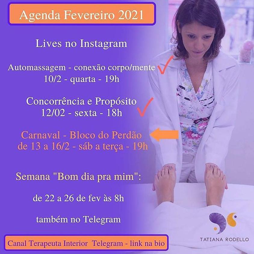 Lives: Agenda Fevereiro 2021