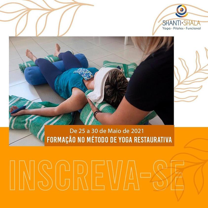 Curso Online e Presencial: Formação no Método de Yoga Restaurativa