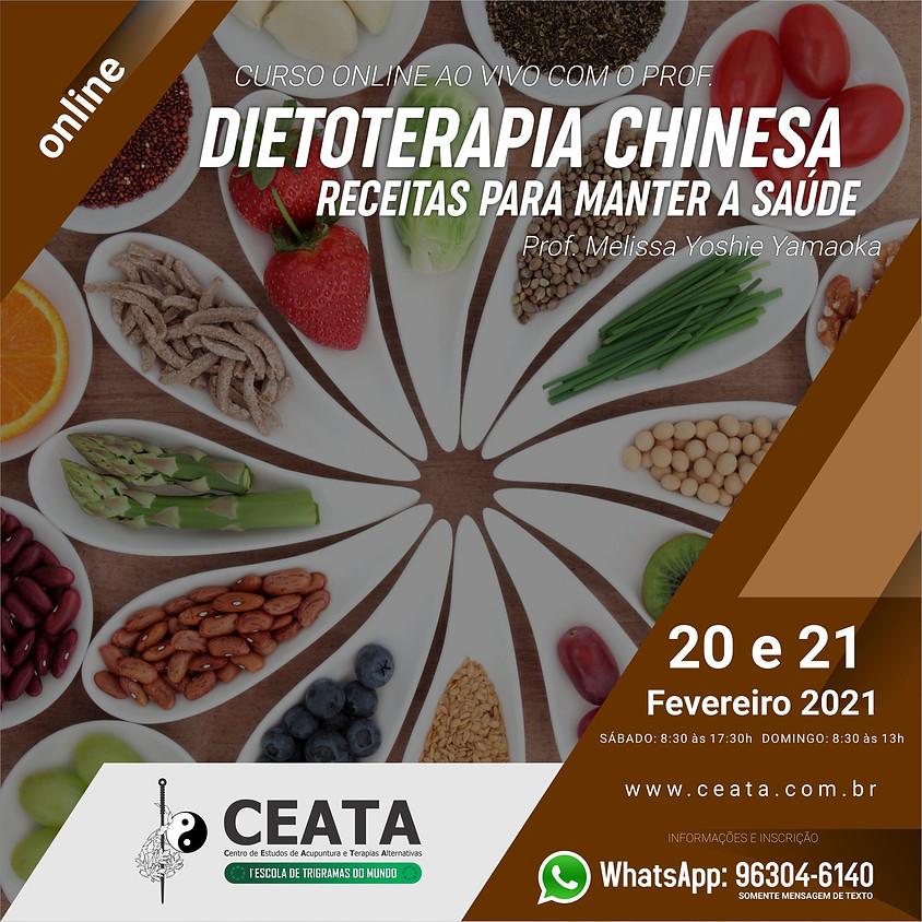 Curso On line:  Dietoterapia Chinesa