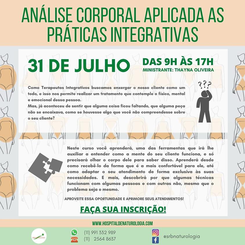 Curso:  Análise Corporal Aplicadas as Práticas Integrativas