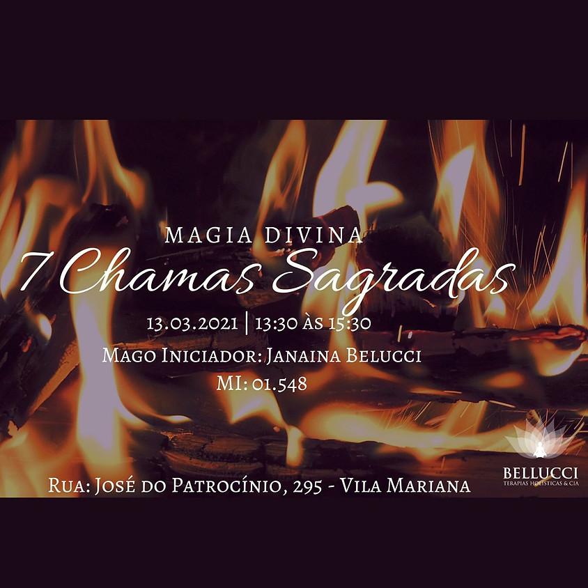 Curso: Magia Divina das 7 Chamas Sagradas