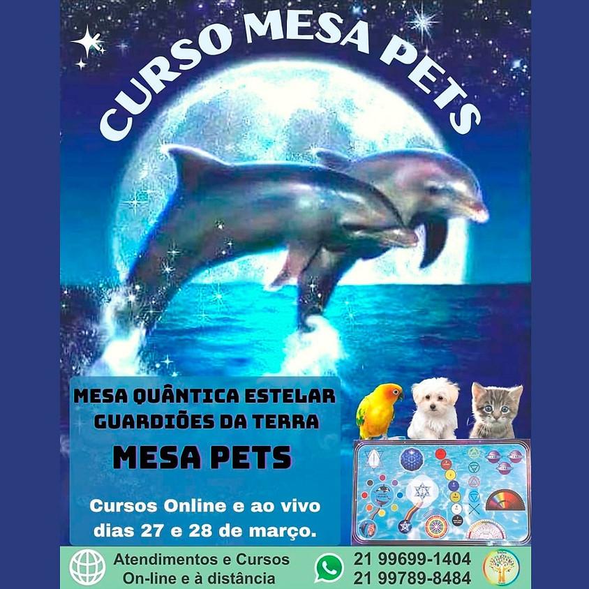 Curso Online: Mesa Quântica Estelar Guardiões da Terra - Mesa Pets