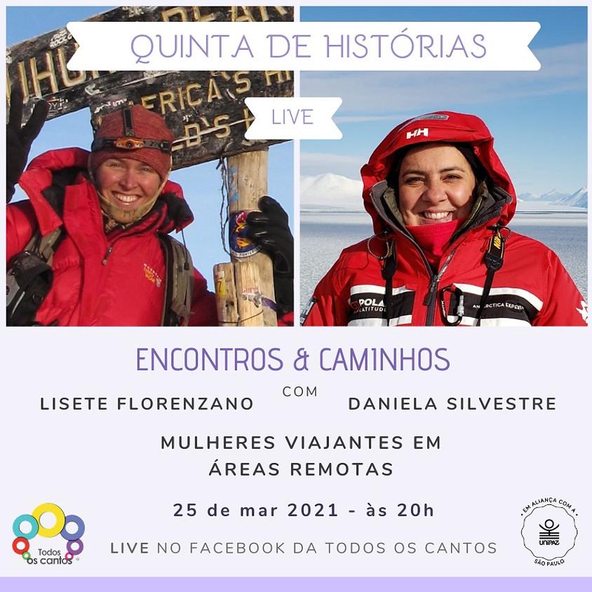 Live: Quinta de Histórias Mulheres Viajantes em Áreas Remotas
