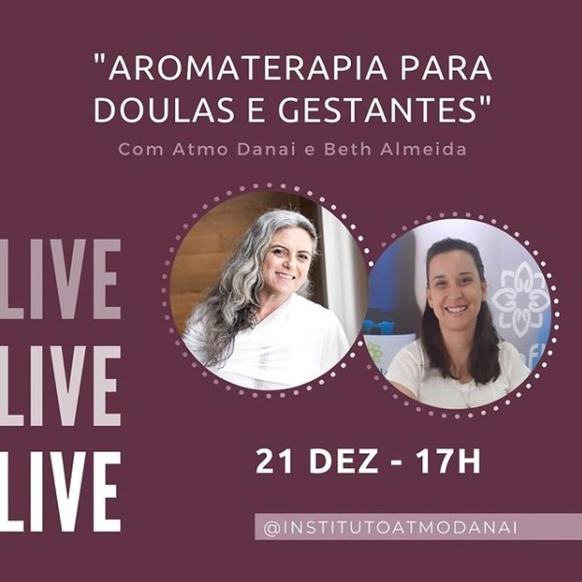 Live: Aromaterapia para Doulas e Gestantes