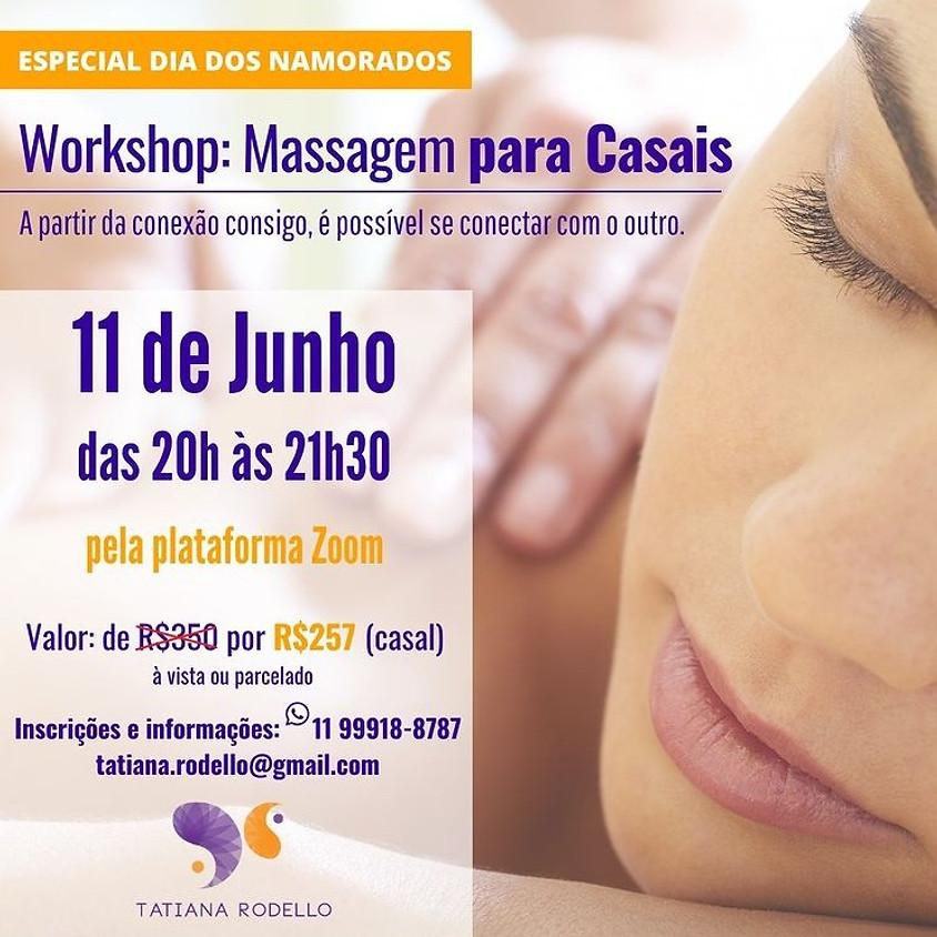 Worshop: Massagem para Casais