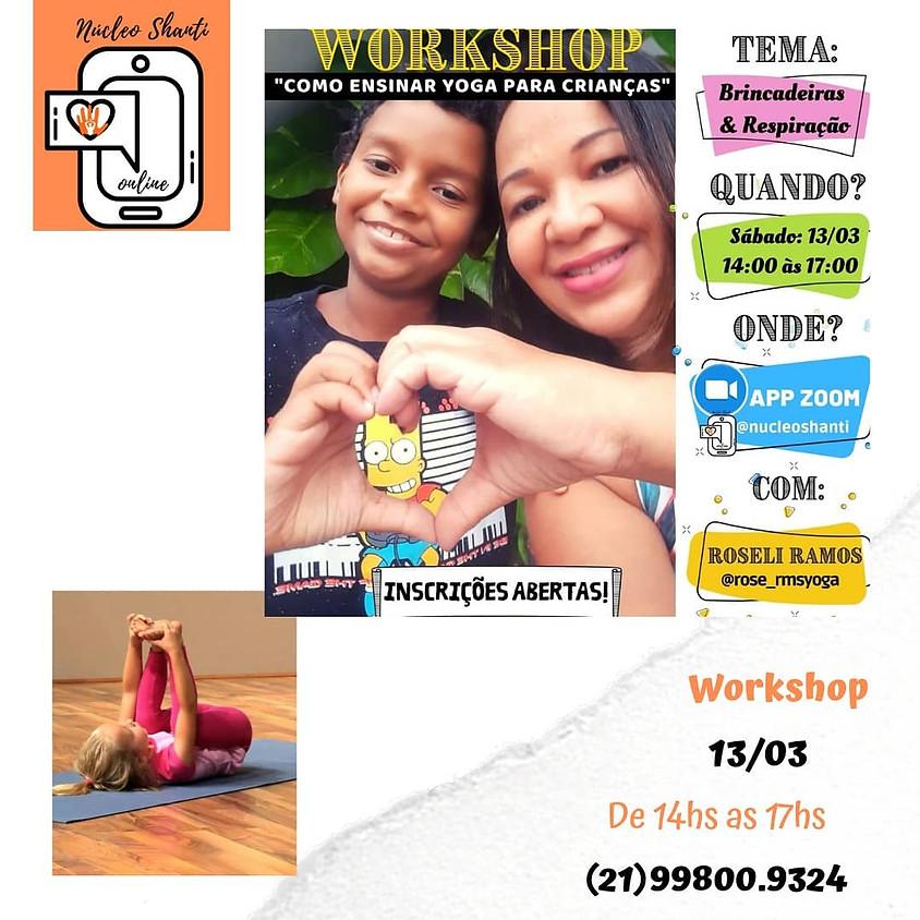 Workshop:  Prática de Yoga para Crianças e Adolescentes