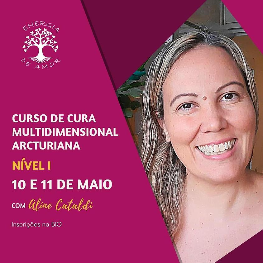Curso Online de Cura Multidimensional Arcturiana Nível I