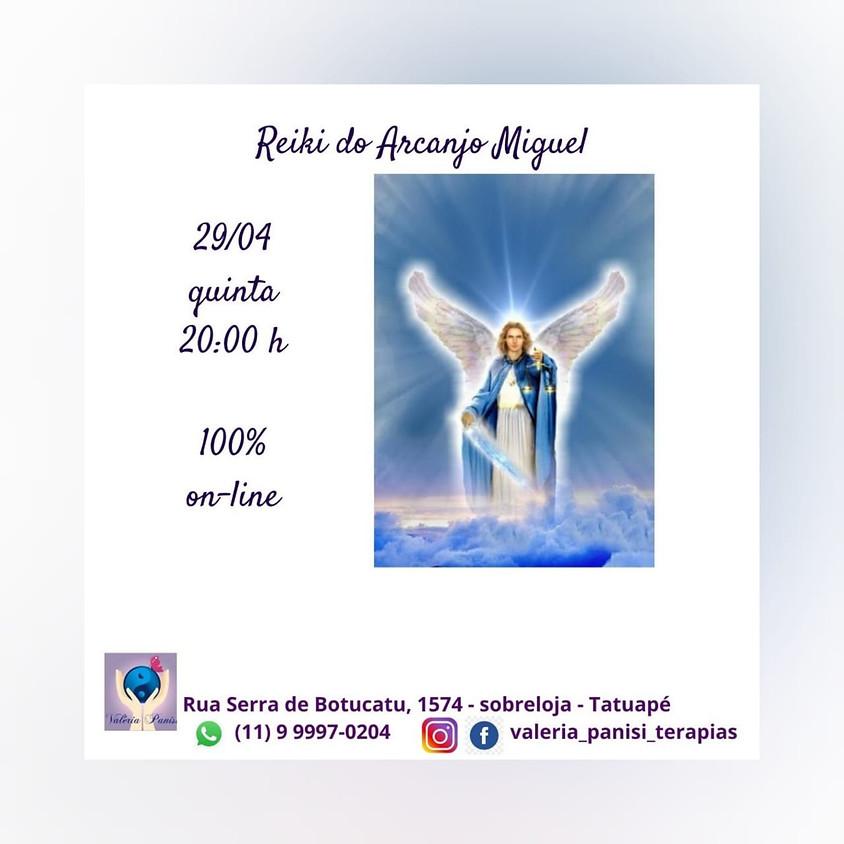 Curso: Reiki Arcanjo Miguel