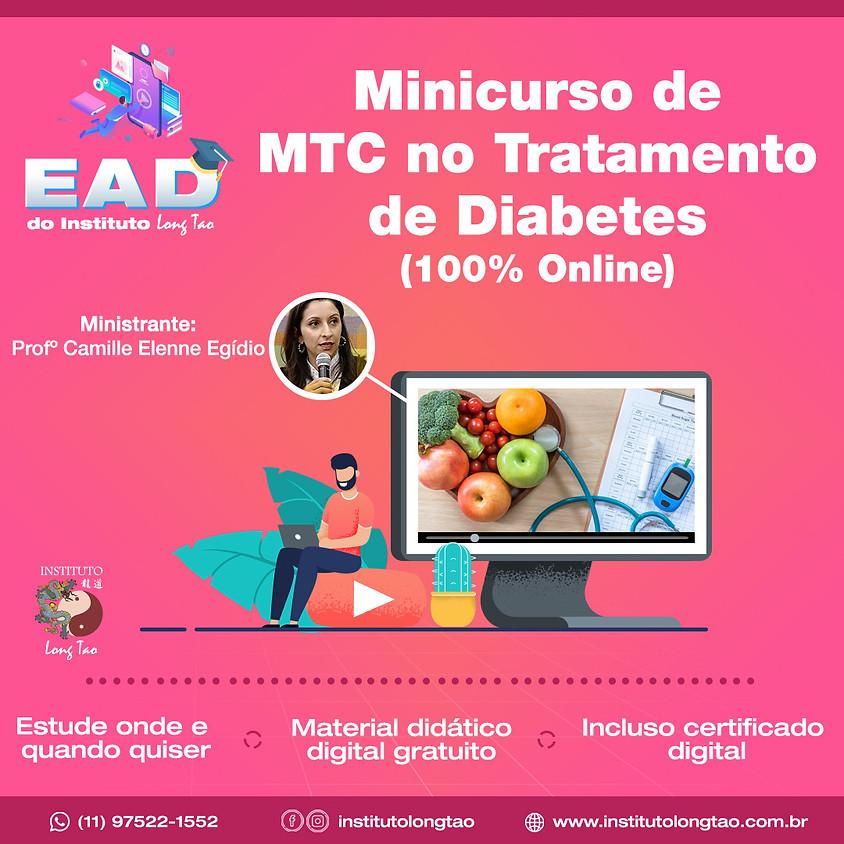 Curso: EAD  MTC no tratamento de Diabetes