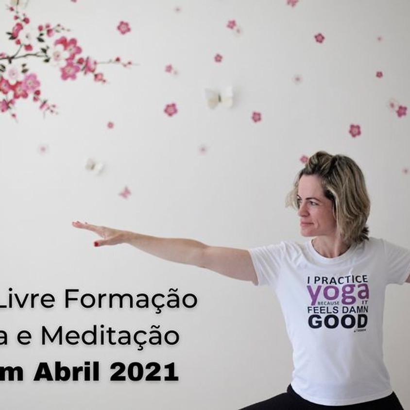 Curso Livre Formação em Yoga e Meditação