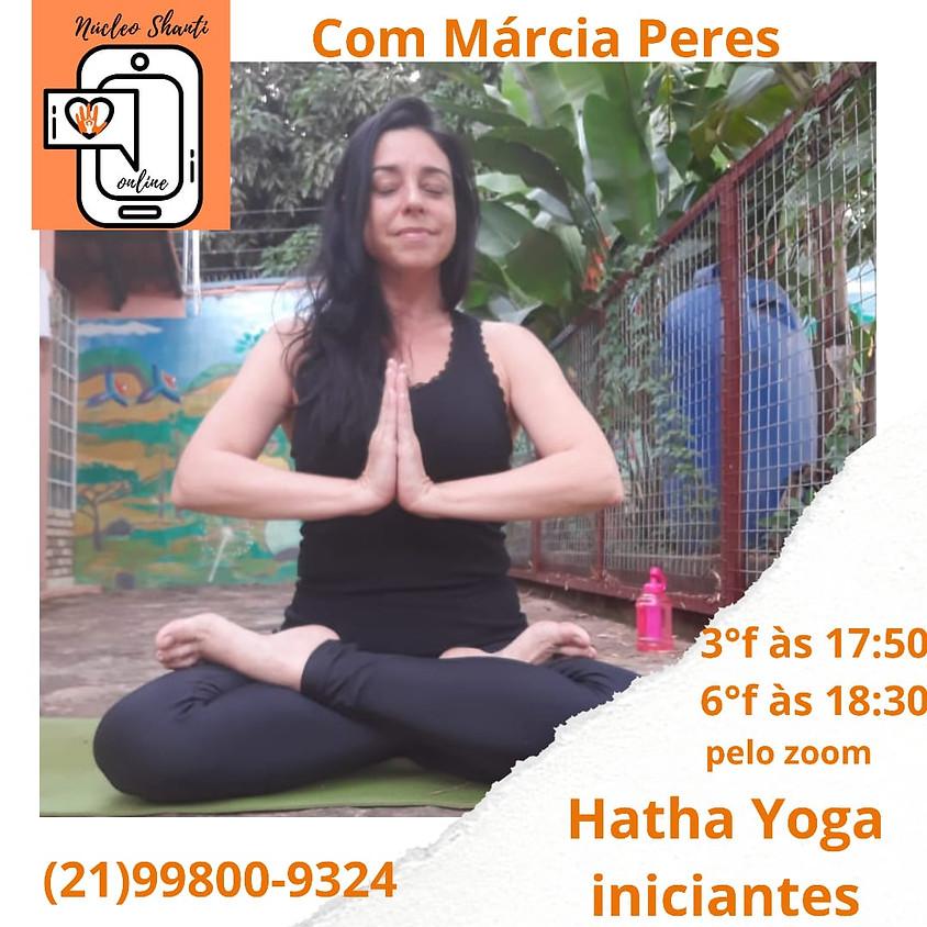Aula Online: Hatha Yoga iniciantes - Terças