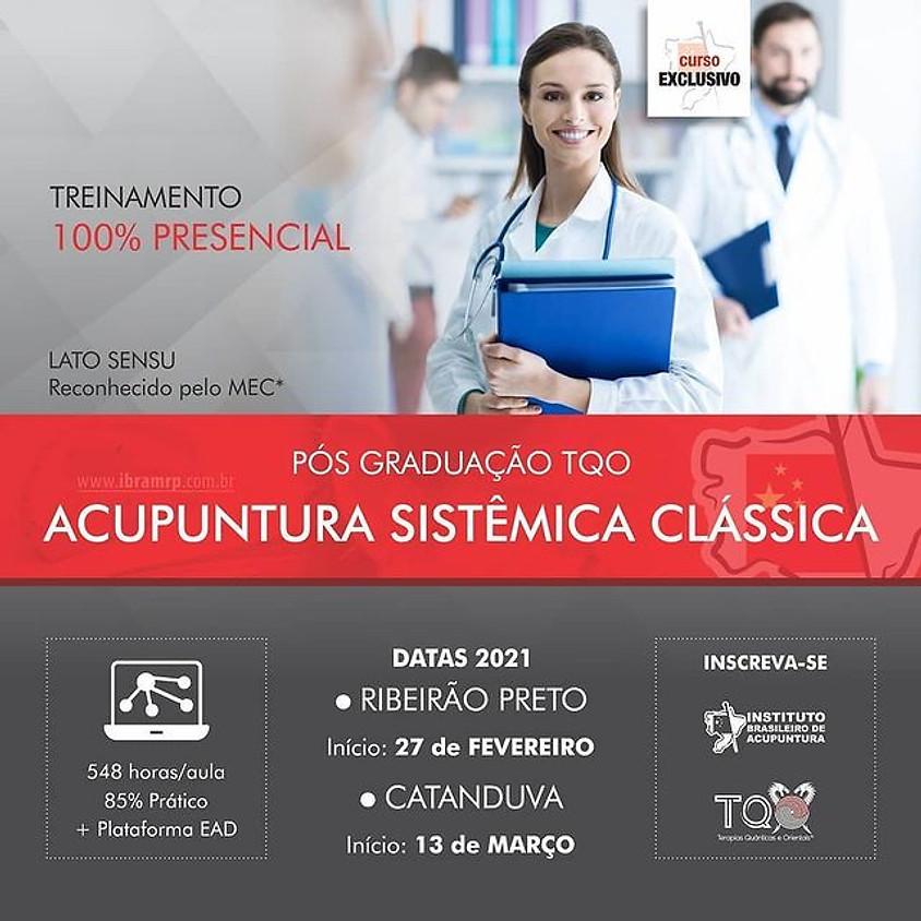 Curso: Pós-Graduação TQO em Acupuntura Sistêmica Clássica