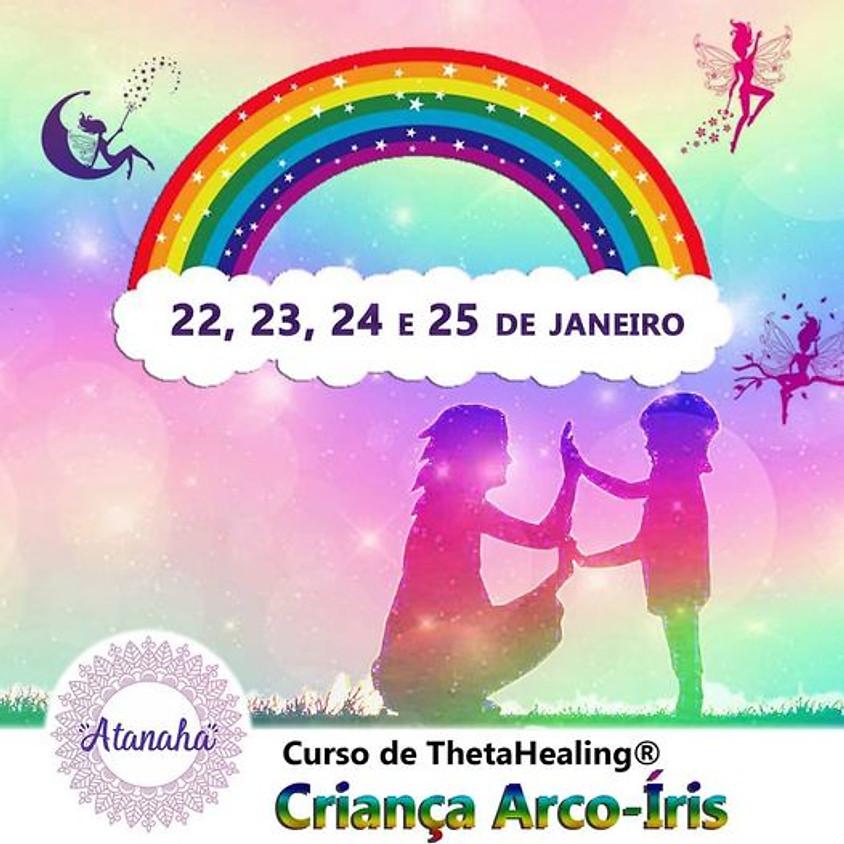 Curso de ThetaHealing® Criança Arco-Íris no Espaço Atanaha