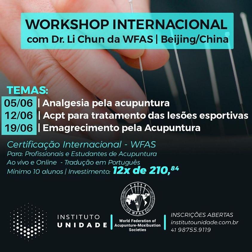 Worshop Internacional com Dr. Li Chun - Wfas    Beijing/ China