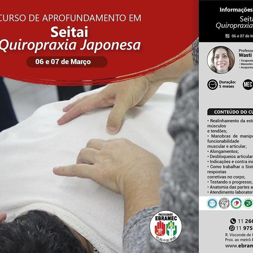 Curso:  Aprofundamento em Seitai Quiropraxia Japonesa