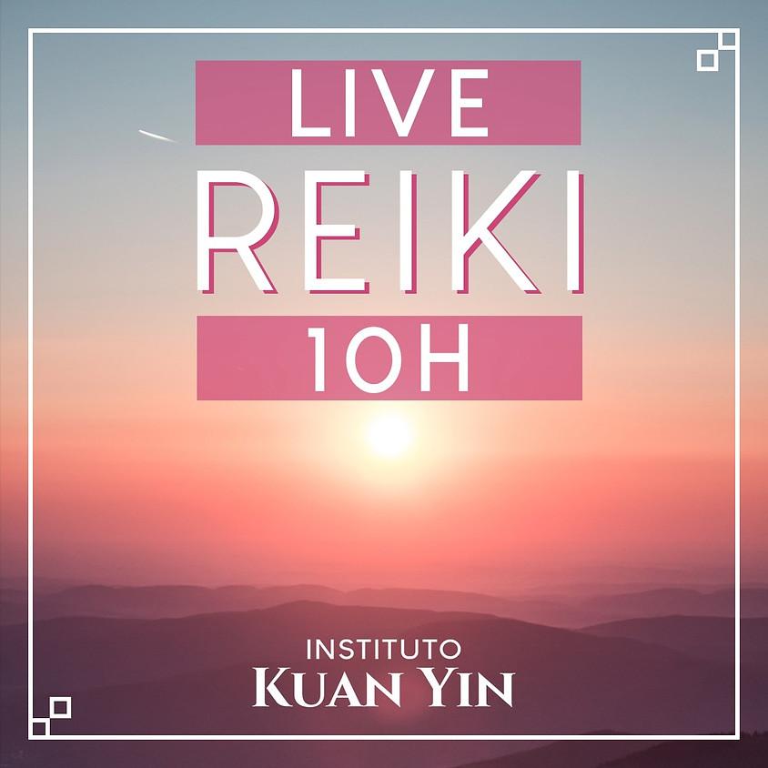 Live: Atendimento de Reiki à Distância