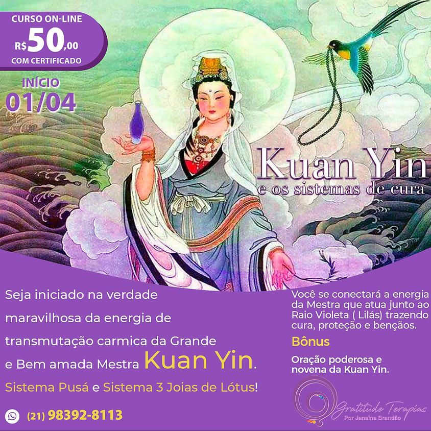 Curso Online: Kuan Yin e os Sistemas de Cura