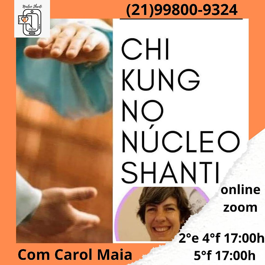 Aula Online: Chi Kung no Núcleo Shati - Quintas