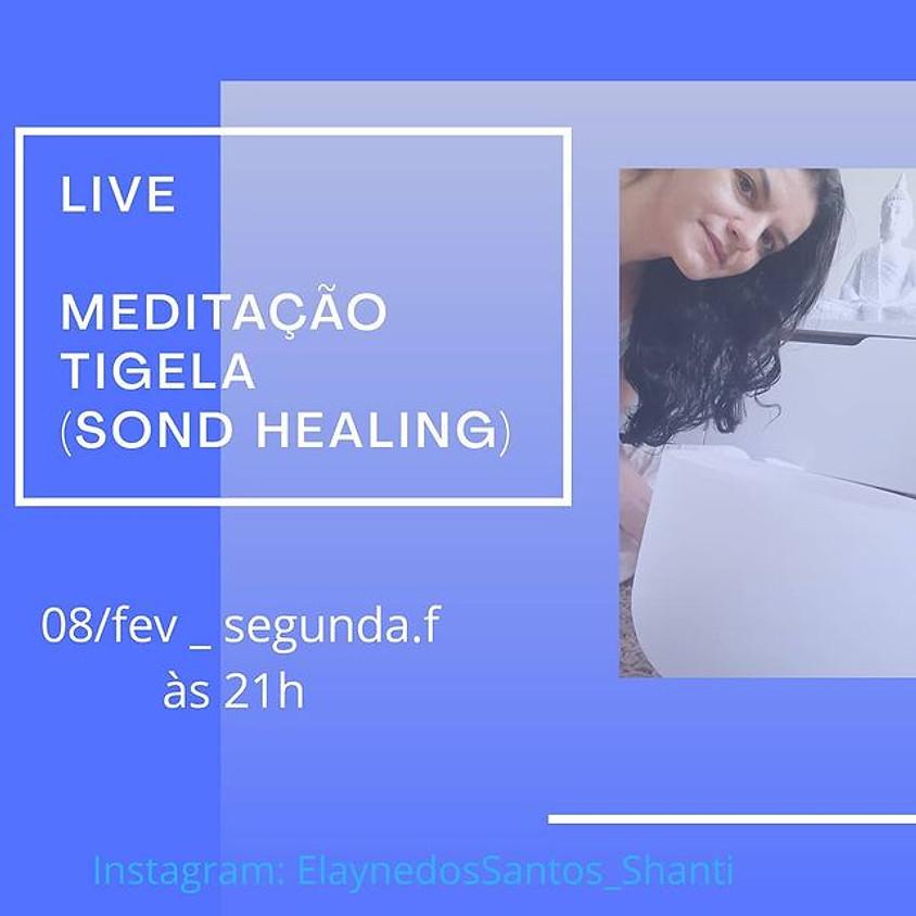 Live:  Meditação com tigela